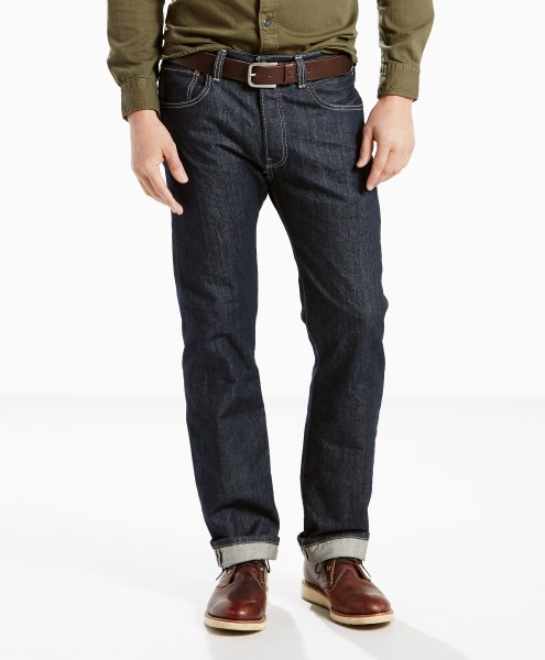 Levi's® 501® Original Jeans - Clean Rigid