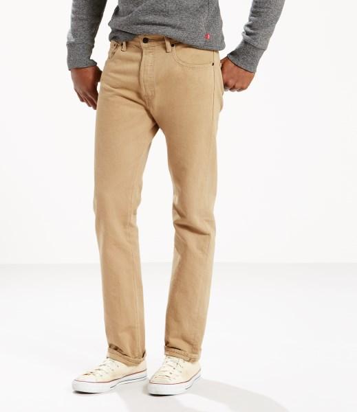 Levi's® 501® Original Jeans - Desert Khaki