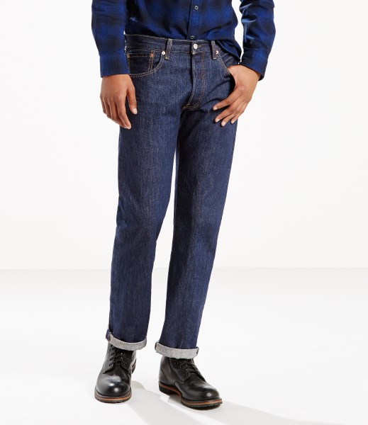 Levi's® 501® Original Jeans - Washed Midnight