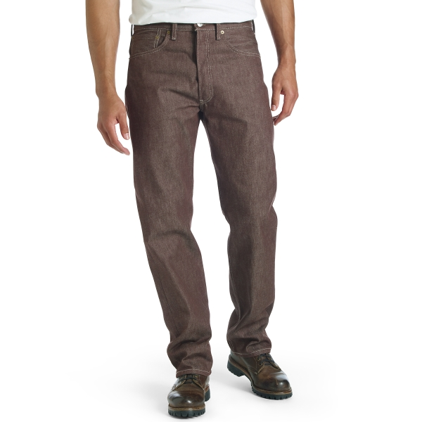 Levi's® 501® Original Shrink-to-Fit™ Jeans - New Brown STF