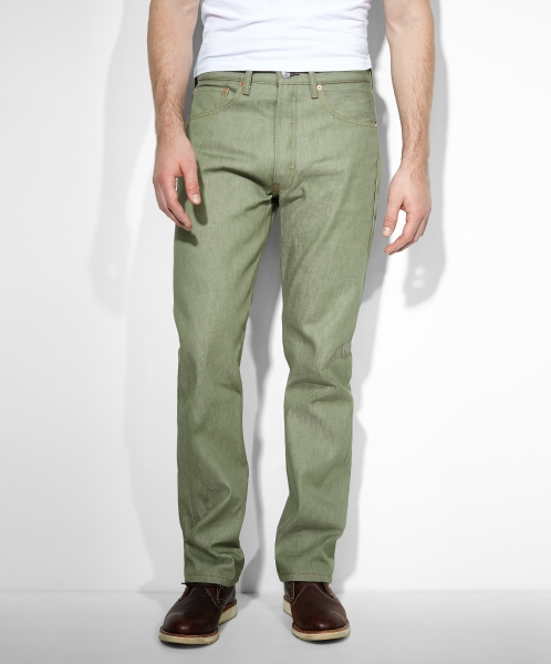 Levi's® 501® Original Shrink-to-Fit™ Jeans - Olive STF