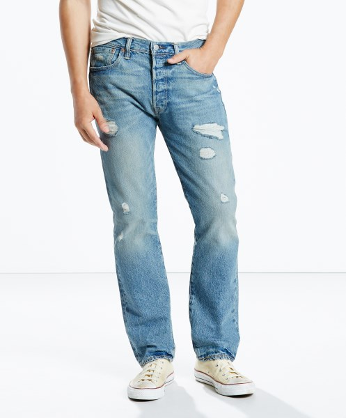 Levi's® 501® Original Jeans - Torn Up STF