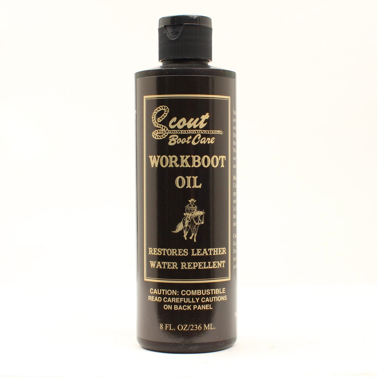 Scout Boot Care:  Workboot Oil