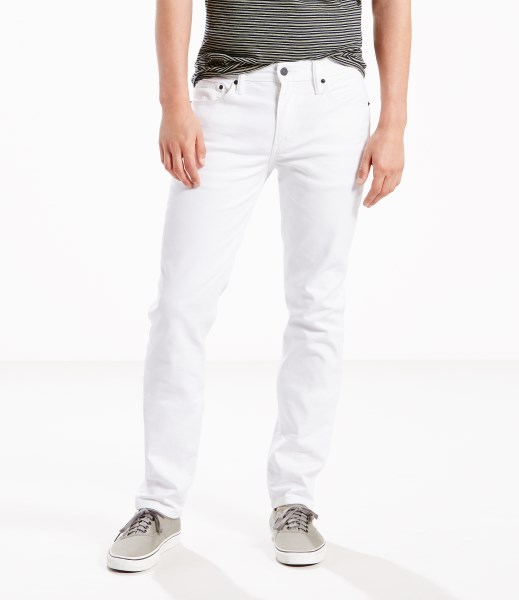 Levi's® 511™ Slim Stretch Jeans - White-Bull Denim