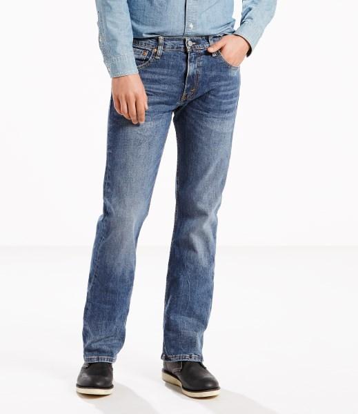 Levi's® 527™ Slim Bootcut Stretch Jeans - Black Stone
