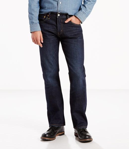 Levi's® 527™ Slim Bootcut Jeans - Indigo Black