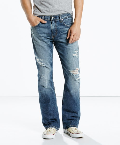 Levi's® 527™ Slim Bootcut Jeans - Blue Barnacle
