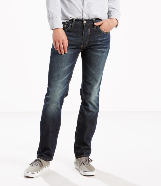 Levi's® 513™ Slim Straight Jeans - Green Splash