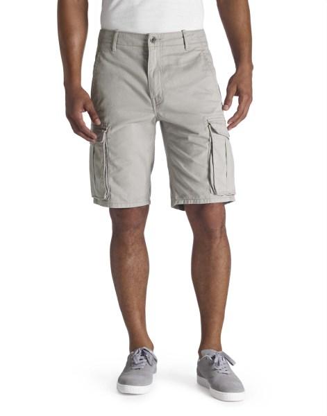 LEVI'S® ACE Cargo Shorts – Limestone Tumbled