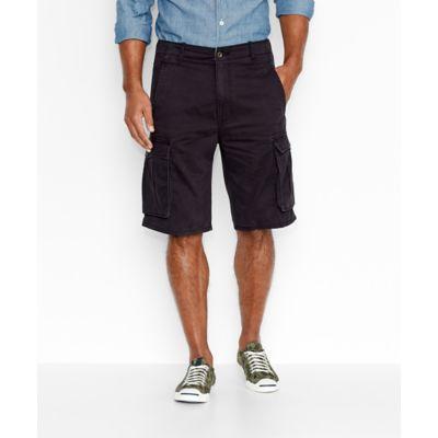 LEVI'S® ACE Cargo Shorts – Black Tumbled