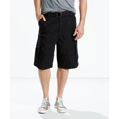 LEVI'S® Squad Belted Cargo Shorts – Black