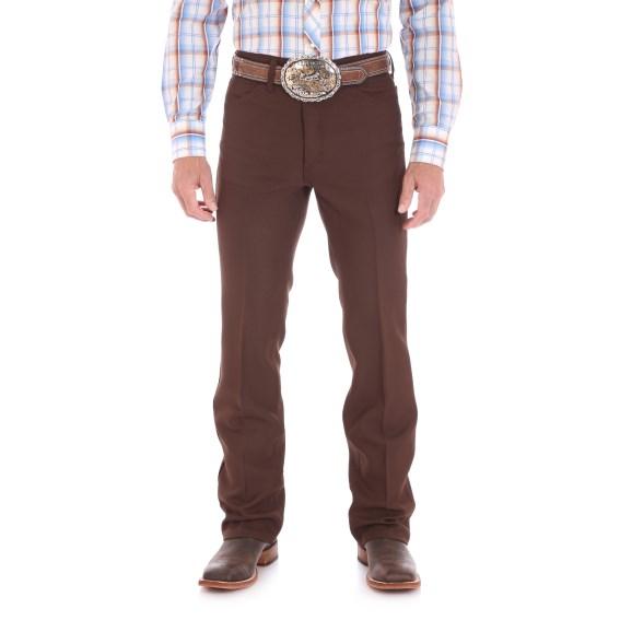 Wrangler® Brown Dress Jean