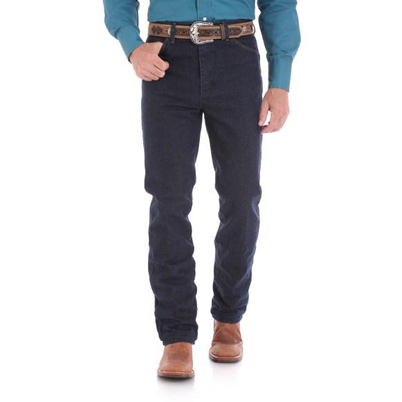 WRANGLER® Cowboy Cut® Silver Edition Slim Fit Jean - Dark Denim