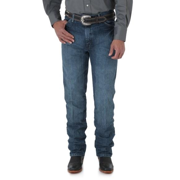WRANGLER® Cowboy Cut® Silver Edition Slim Fit Jean - Natural Vintage Denim