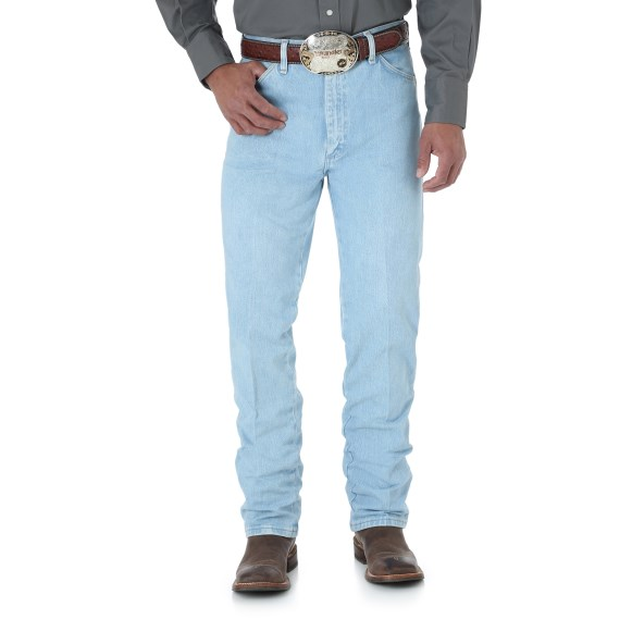WRANGLER® Cowboy Cut® Slim Fit Jean - Bleach