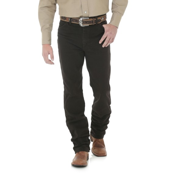 WRANGLER® Cowboy Cut® Slim Fit Jean - Black Chocolate