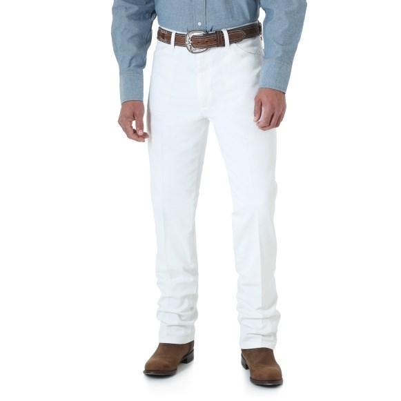 WRANGLER® Cowboy Cut® Slim Fit Jean - White