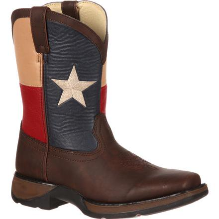 Lil' Durango Kids' Texas Flag Western Boot