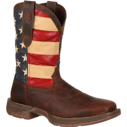 Rebel by Durango Patriotic Pull-On Western Flag Boot