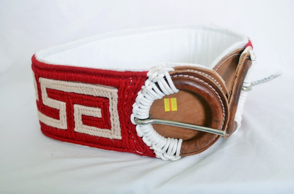 Woven Girth Strap with Padded Backing