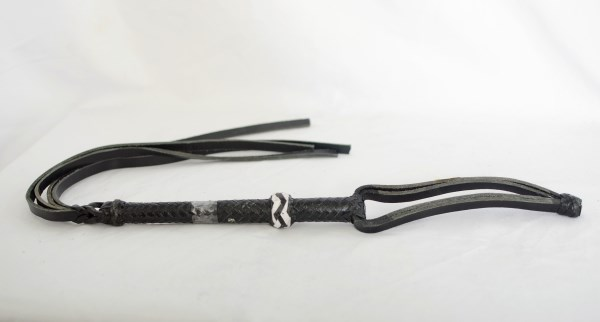 Black Leather Quirt