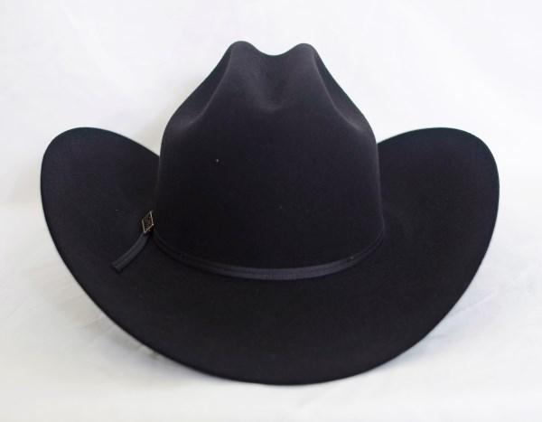 Larry Mahan's 4X Ridgetop Black Cowboy Hat