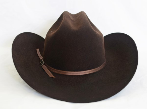 Larry Mahan's 4X Ridgetop Brown Cowboy Hat