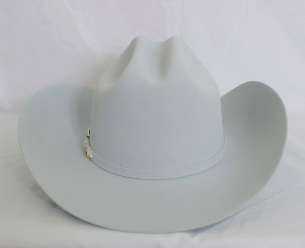"Larry Mahan's 6X ""Real"" Platinum Cowboy Hat"