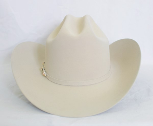 "Larry Mahan's 6X ""Real"" Belly Cowboy Hat"