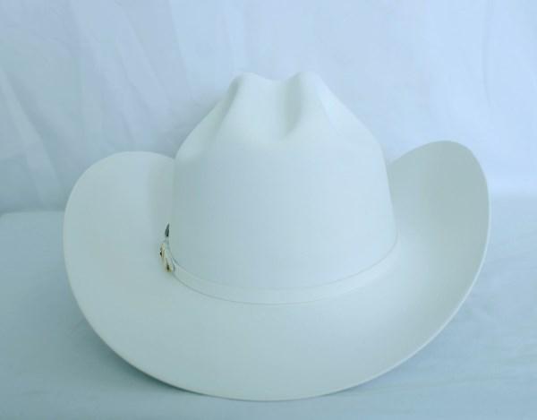 Larry Mahan's 10X Tucson White Cowboy Hat