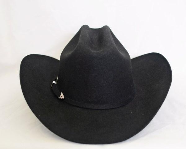 Dallas 5X Black Cowboy Hat