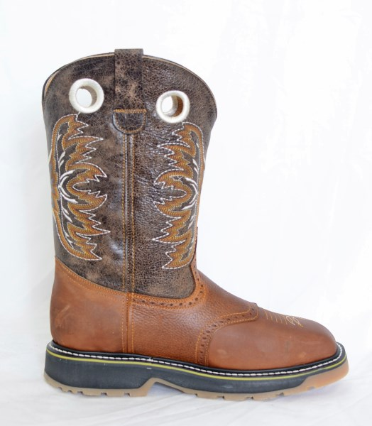 El  Dorado Mens Shedron Steel Square Toe Work Boots