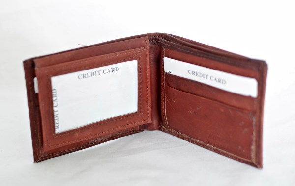 Brown Bifold Leather Wallet