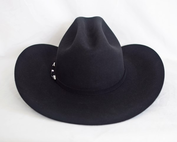 Resistol 4X Midnight Black Cowboy Hat