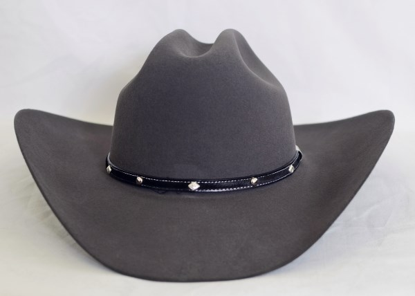 Stetson 6X Angus Granite Gray Cowboy Hat