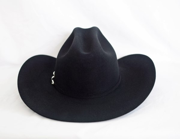 Stetson 5X Lariat Black Cowboy Hat
