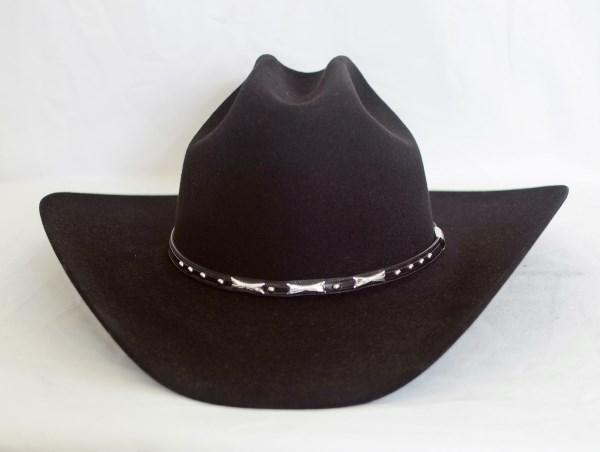 Stetson 6X Trey Black Cowboy Hat