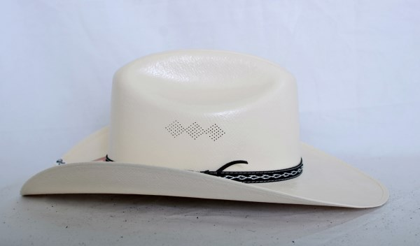 Dustin Limited Edition 100X Ivory Palm Cowboy Hat
