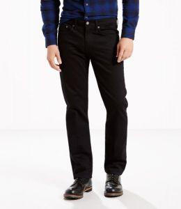 Levi's® 514™ Straight Stretch Jeans - Black