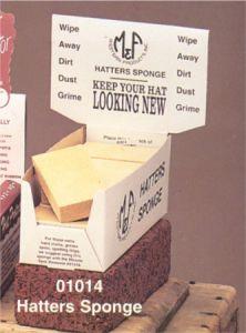 M&F Hatters Sponge