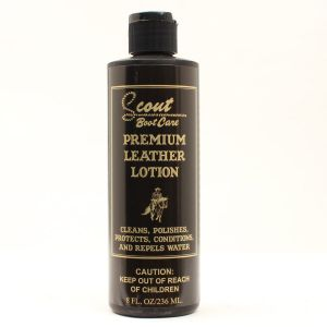 Scout Boot Care:  Premium Leather Lotion