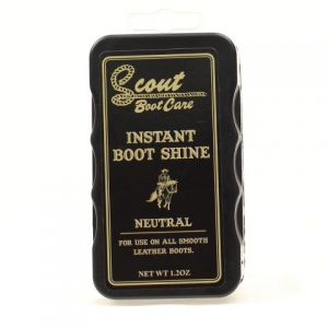 Scout Boot Care:  Instant Boot Shine, Neutral