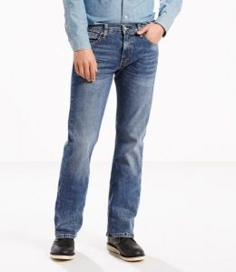 Levi's® 527™ Slim Bootcut Stretch Jeans - Black Stone