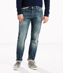 Levi's® 513™ Slim Straight Stretch Jeans - Midnight