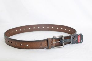 Levi's Mens Casual Perforated Belt