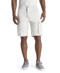 LEVI'S® ACE Cargo Shorts – White Tumbled
