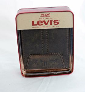 Levi's Two Horse Brown Bifold Leather Wallet