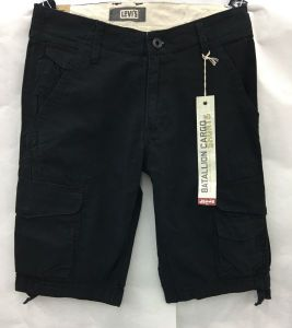 LEVI'S® Battalion Cargo Shorts – Black
