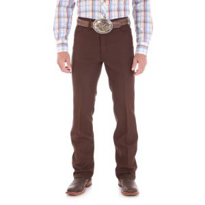 Wrangler® Brown Dress Jean - Big & Tall
