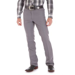 Wrangler® Gray Dress Jean
